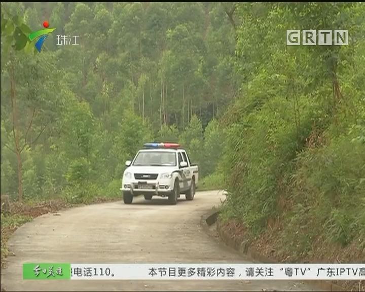高明:一家六口困山中 警笛指引下山路