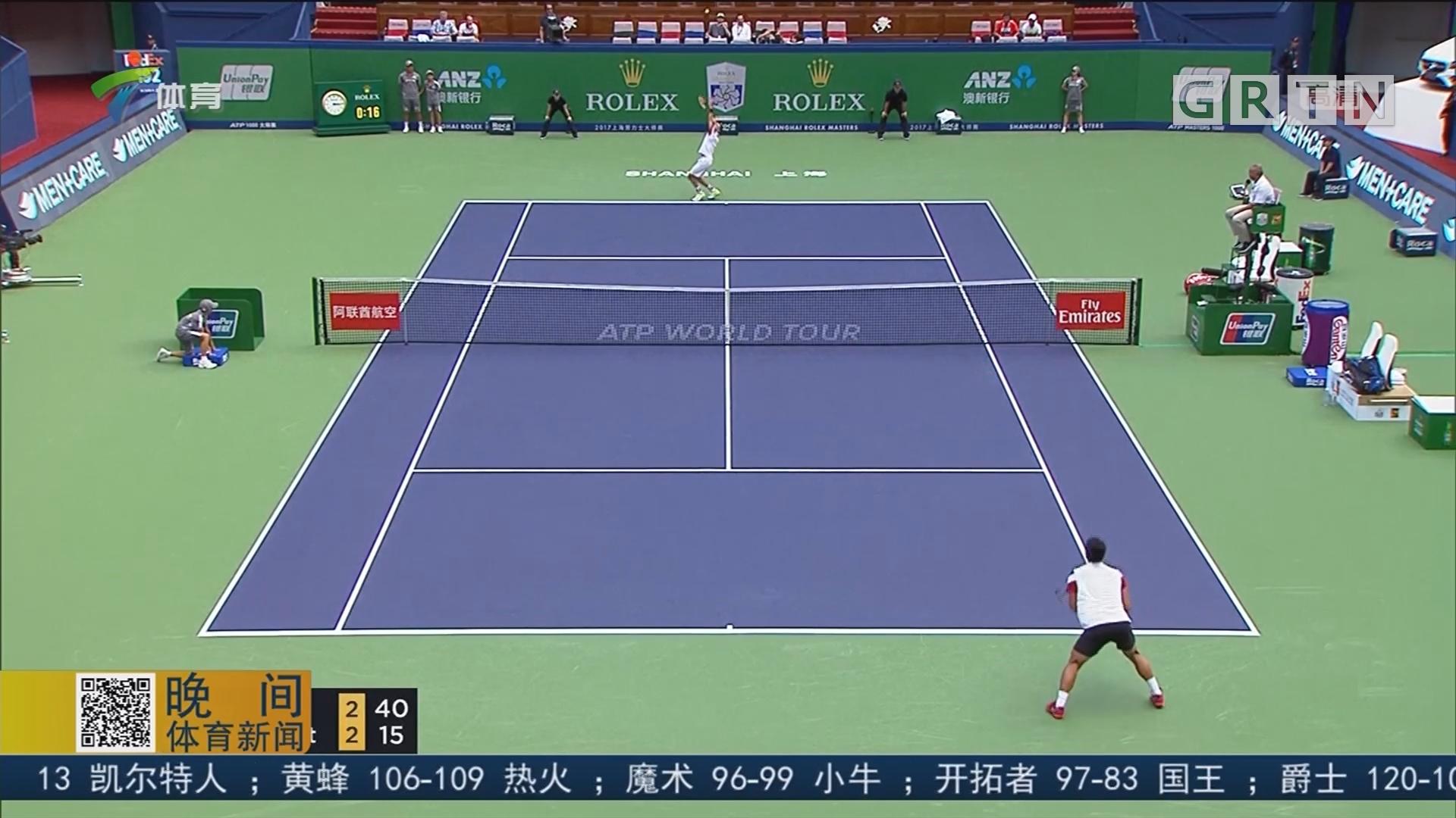 上海大师赛 强手悉数晋级 韩国黑马遭冷门