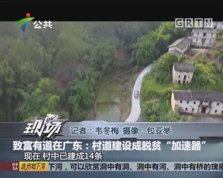 """致富有道在广东:村道建设成脱贫""""加速器"""""""