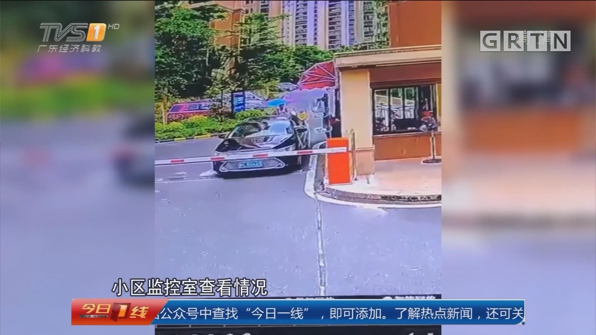 中山坦洲:快递车丢了 客户盼尽快找回包裹