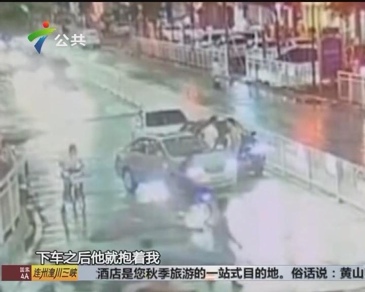 深圳:正常行驶下被拦截 车主报警求助