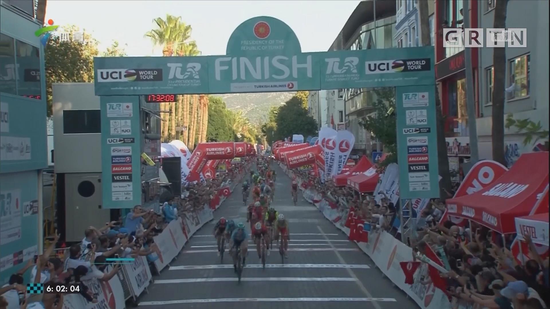 土耳其自行车巡回赛 本内特连夺两赛段冠军