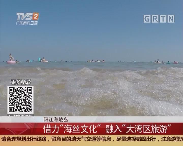 """阳江海陵岛:借力""""海丝文化""""融入""""大湾区旅游"""""""