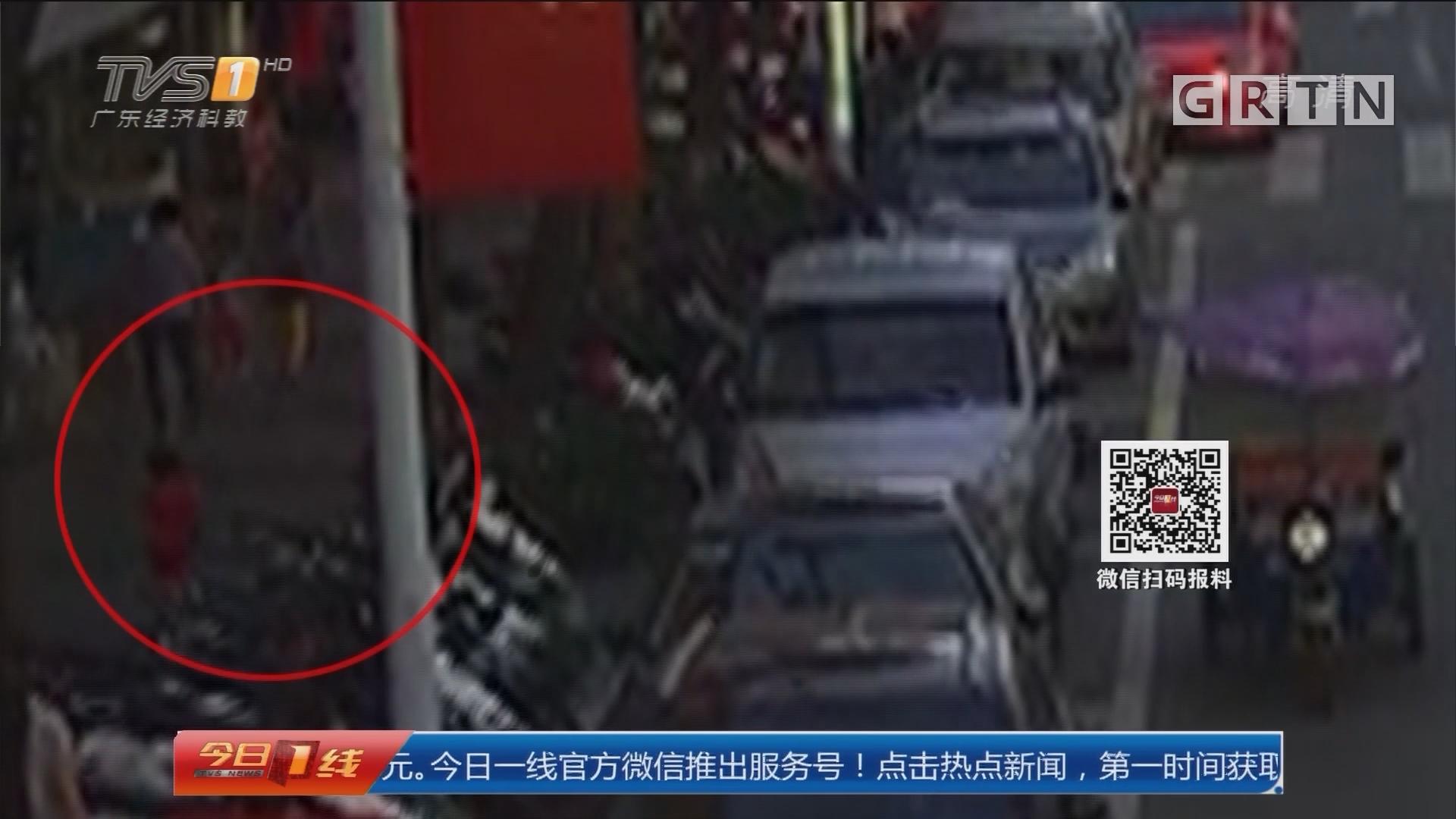 东莞:2岁女童走失 民警8分钟顺利找回