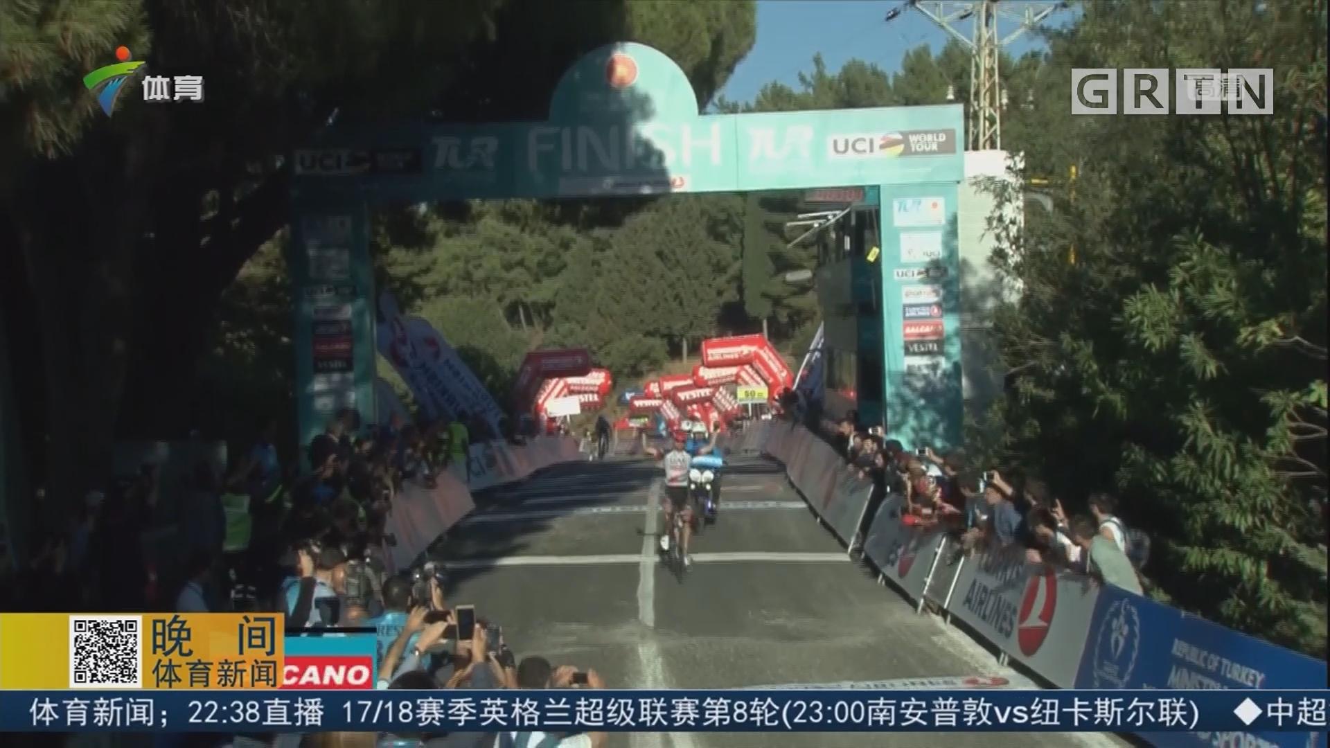 环土耳其赛第四赛段 意大利车手夺冠