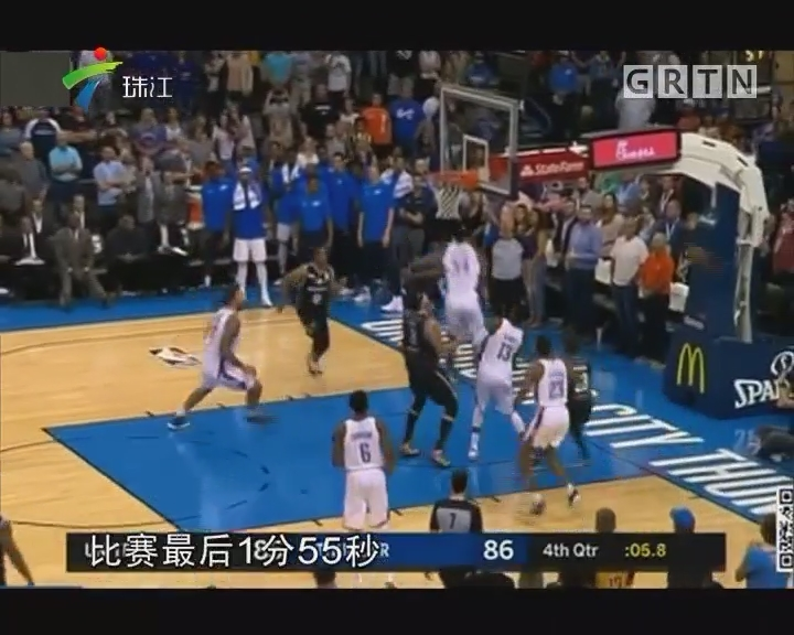 NBA季前赛:雷霆86—85墨尔本联队