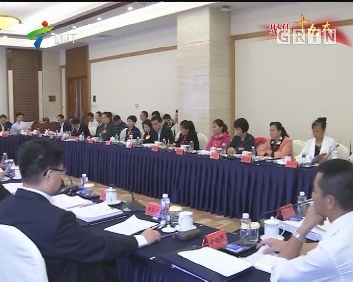 广东团代表议报告谈体会:为实现中国梦贡献自己的力量