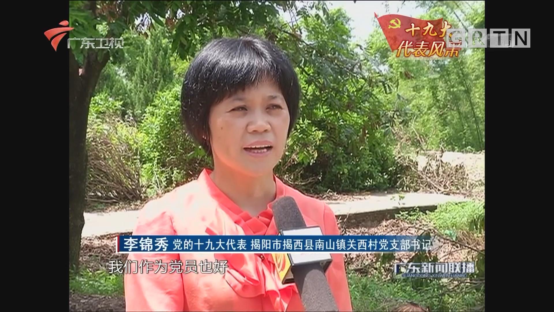 李锦秀:一心一意办实事的女村官