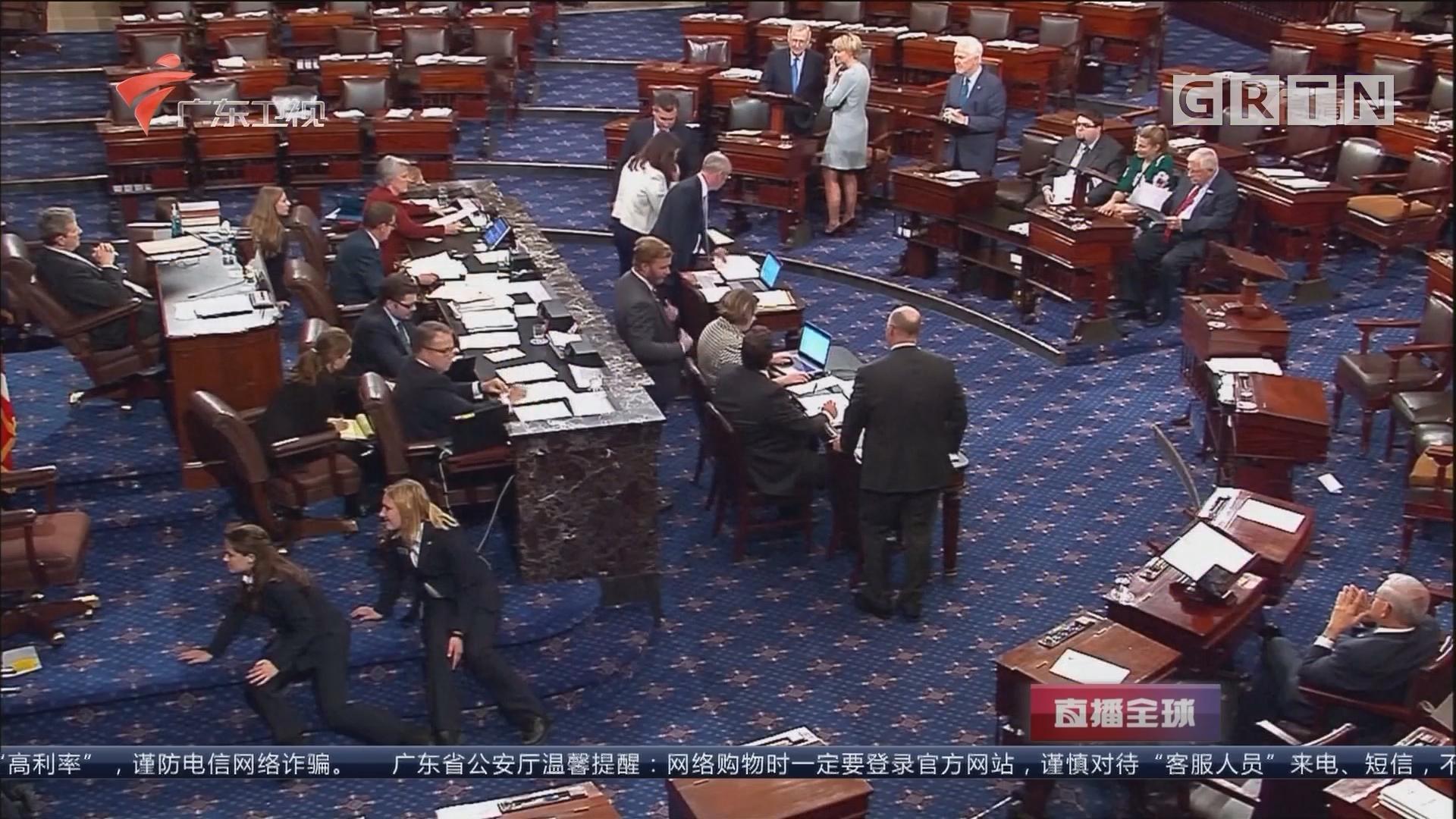 美参院通过2018财年政府预算案:为推进税改铺平道路