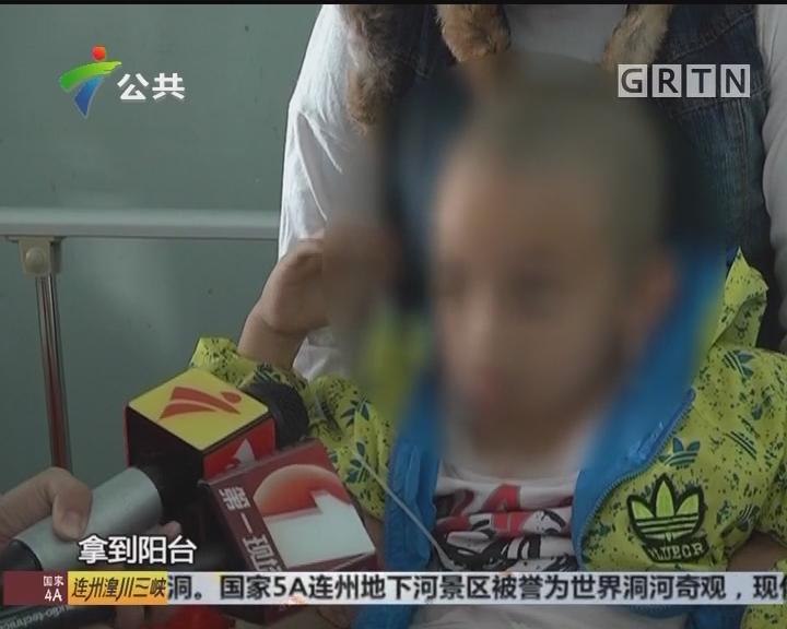 深圳:男童从天台坠下 幸无生命危险