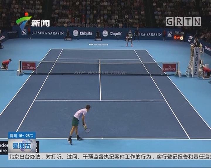 ATP巴塞尔赛:费德勒速胜跻身八强