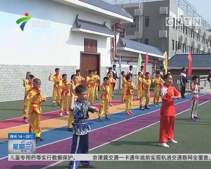 """广州天河:""""红棉""""禁毒走进天河区棠福学校"""