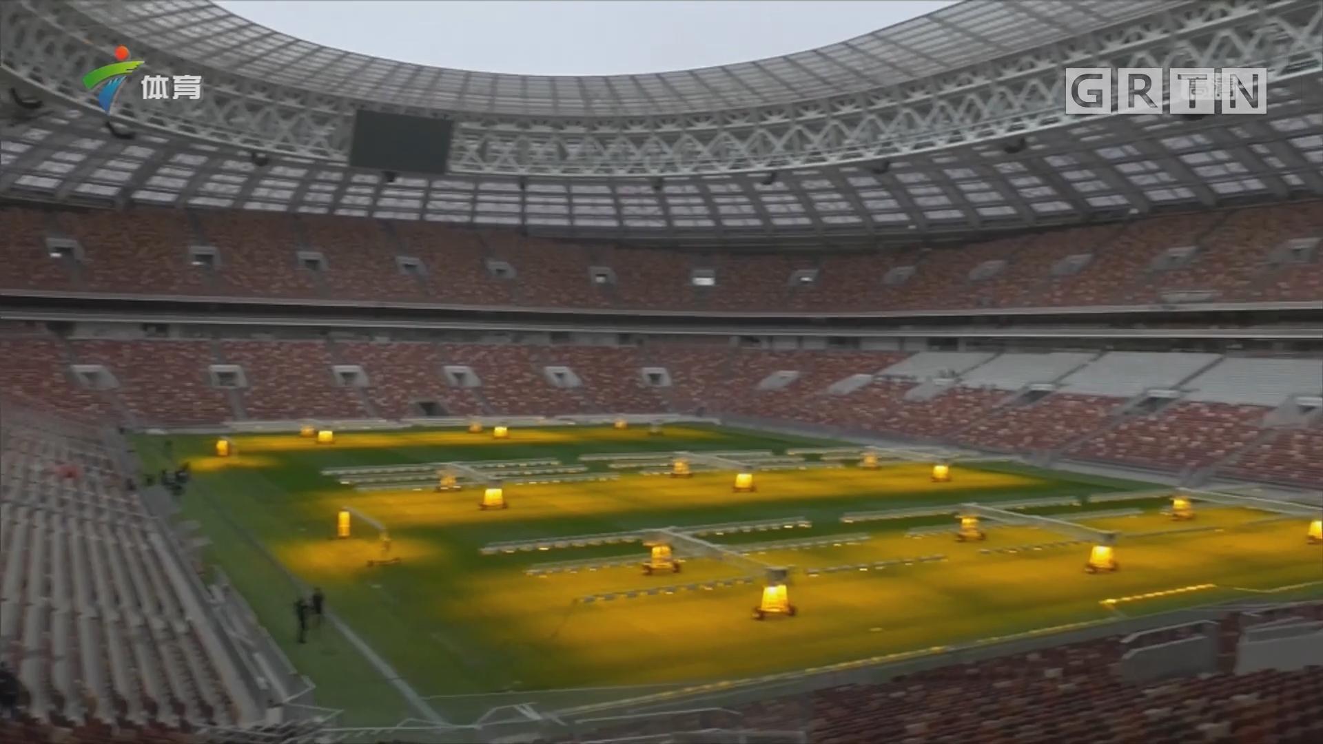 国际足联主席因凡蒂诺期待俄罗斯世界杯