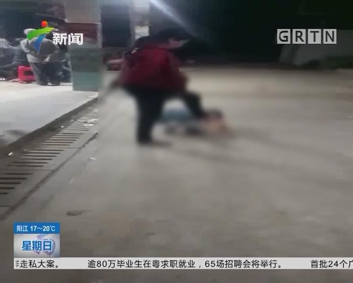 湛江吴川:6岁男孩常遭毒打 街坊同情救助