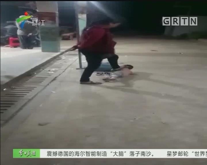 吴川:6岁男孩常遭毒打 街坊同情救助