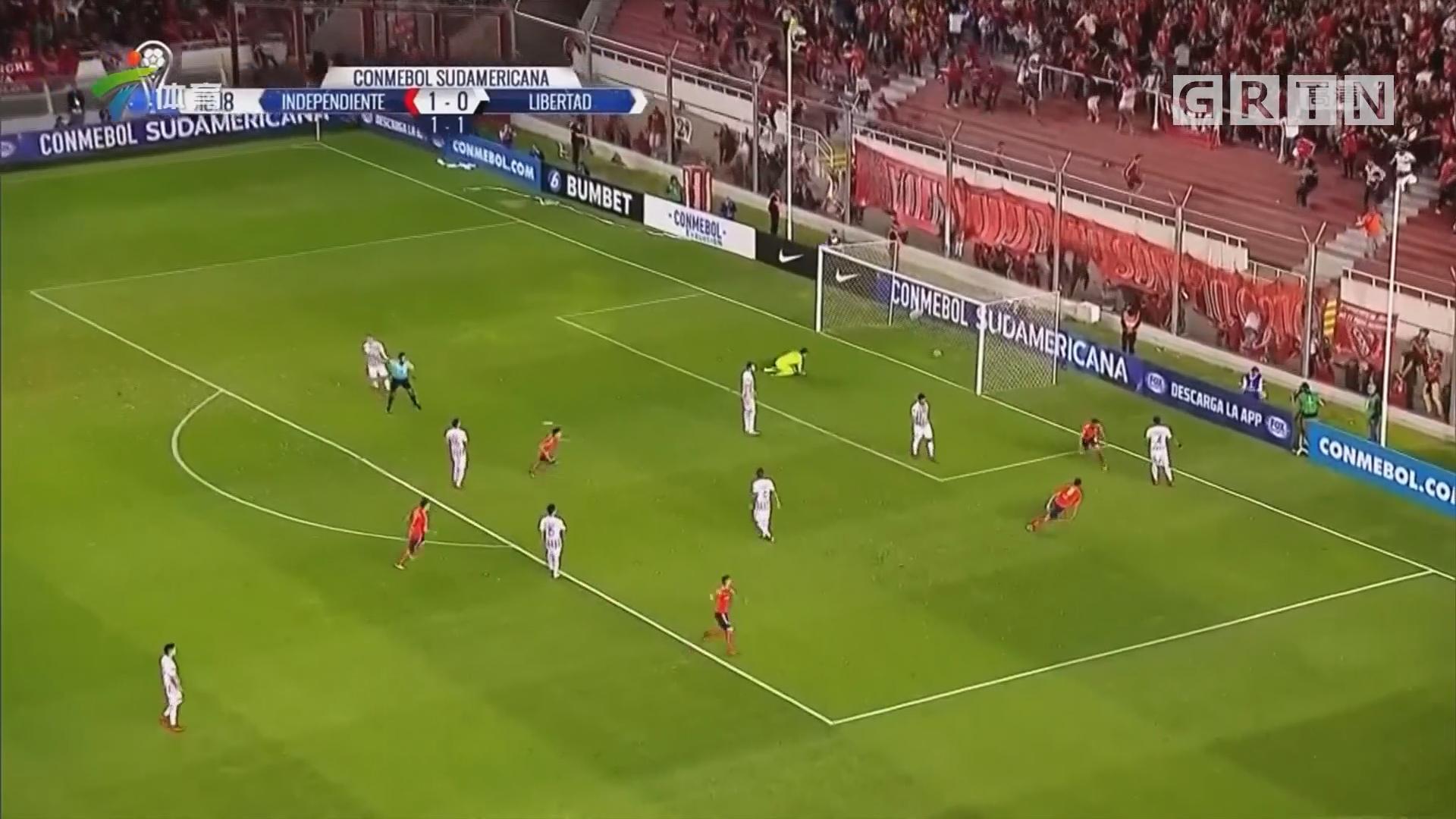 南美俱乐部杯 独立队晋级决赛