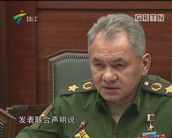 """俄罗斯防长称98%的叙利亚领土已""""解放"""""""