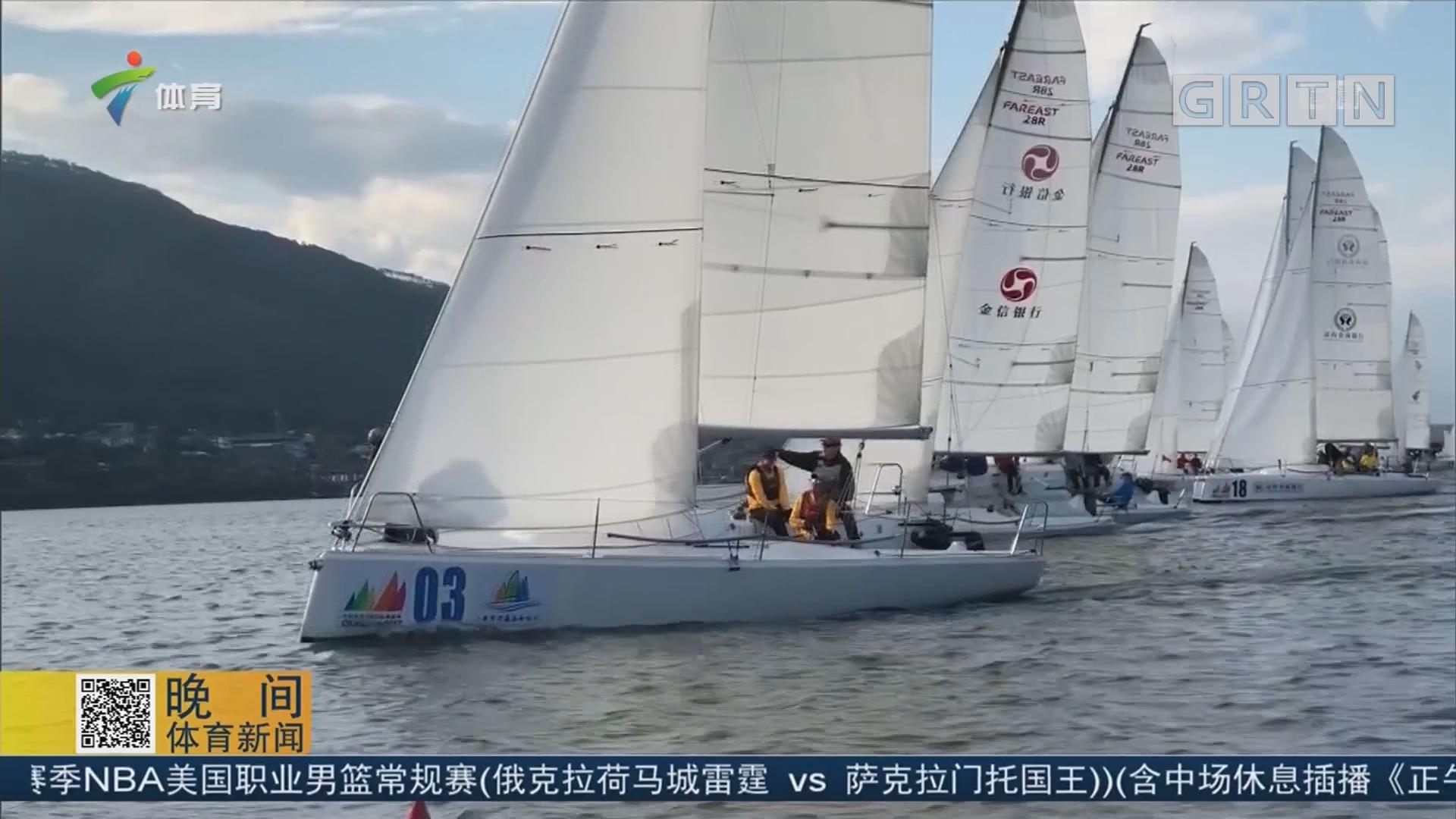 2017西昌邛海国际帆船赛落幕