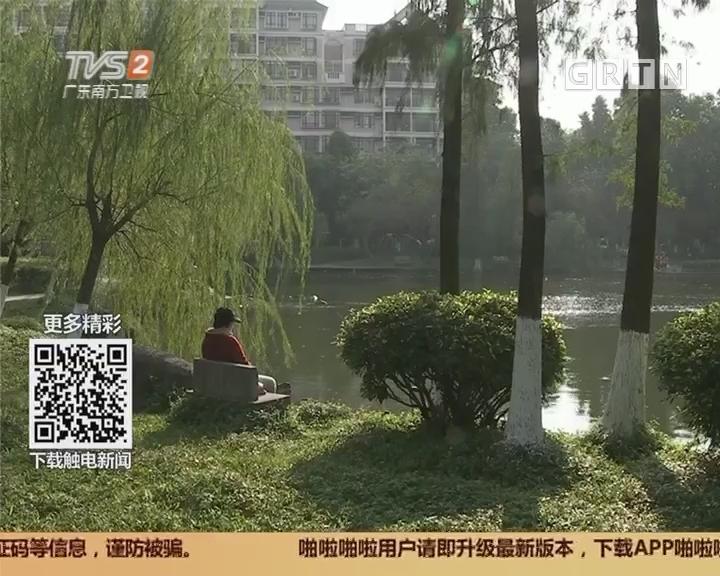 广州番禺丽江花园:女子小区流浪两年 社区齐心助回家