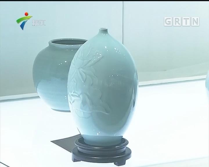 龙泉青瓷广州展日前展出