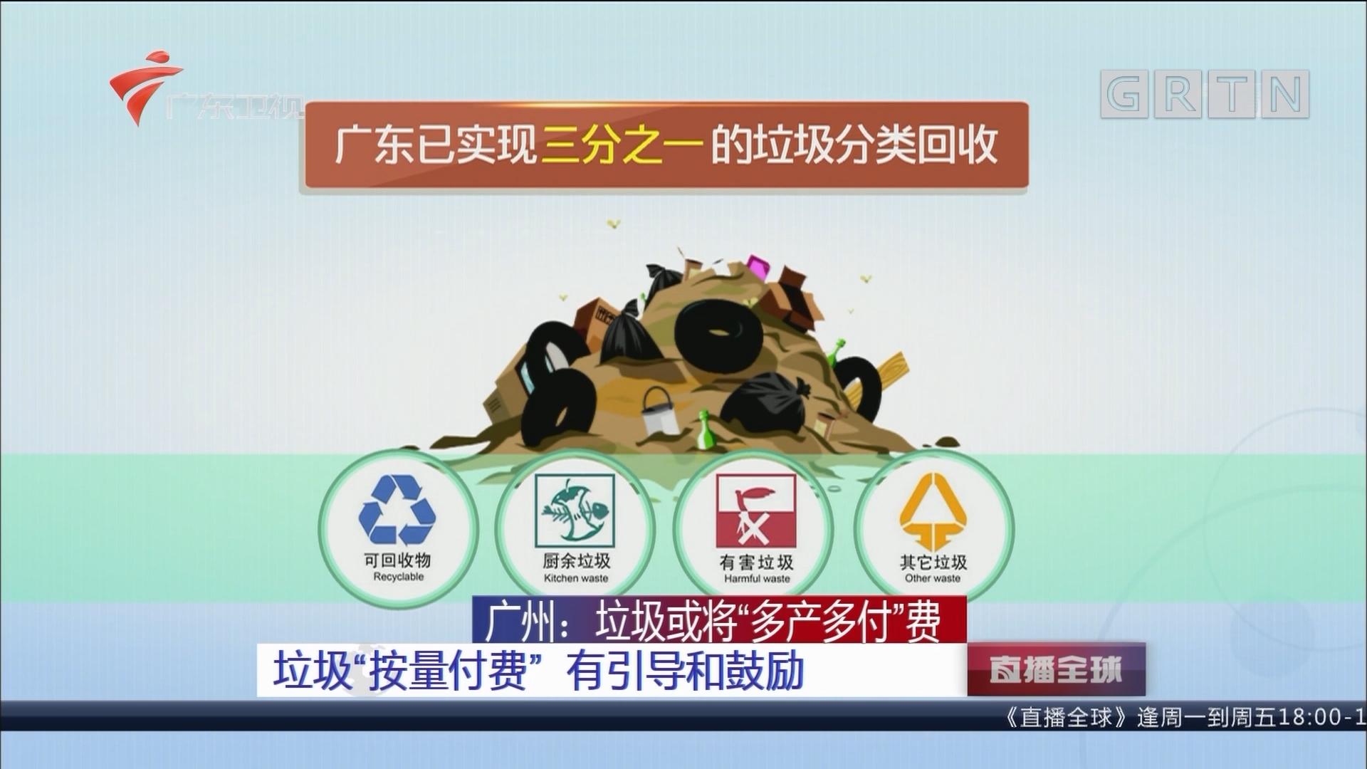 """广州:垃圾或将""""多产多付""""费 垃圾""""按量付费""""有引导和鼓励"""