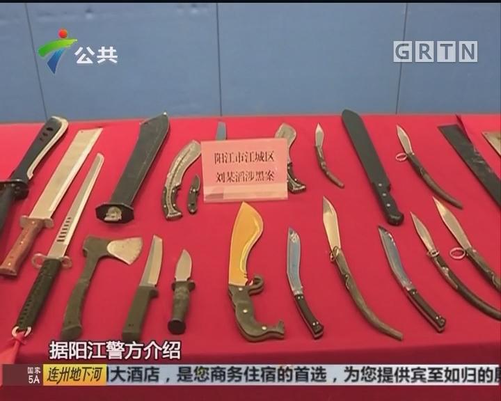 广东警方成功摧毁多个涉黑涉恶犯罪团伙