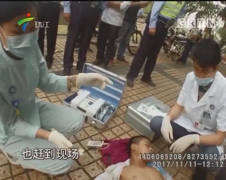 顺德:休班特警勇救落水学生