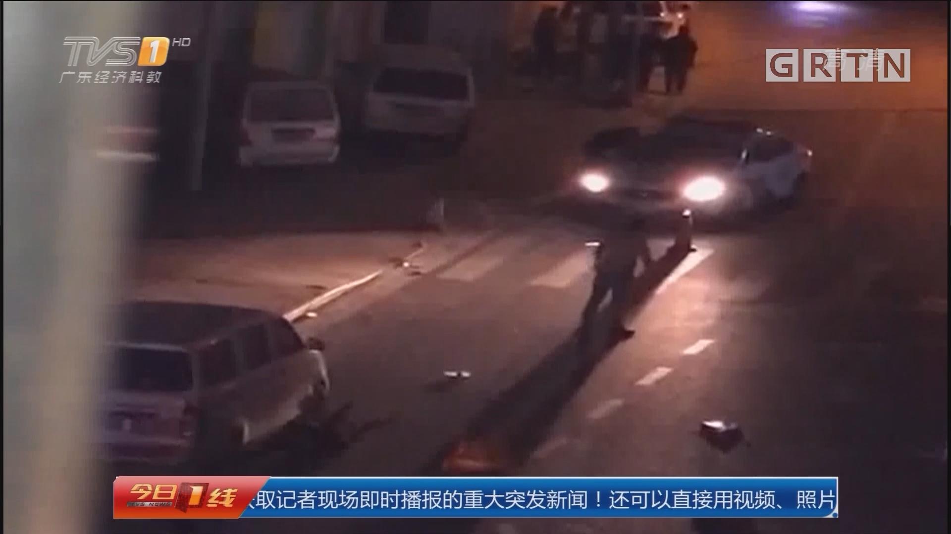 广州番禺:拆招牌 砸轿车 皆因醉酒误事?