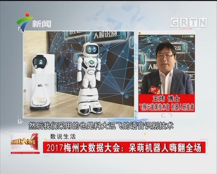 2017梅州大数据大会:呆萌机器人嗨翻全场