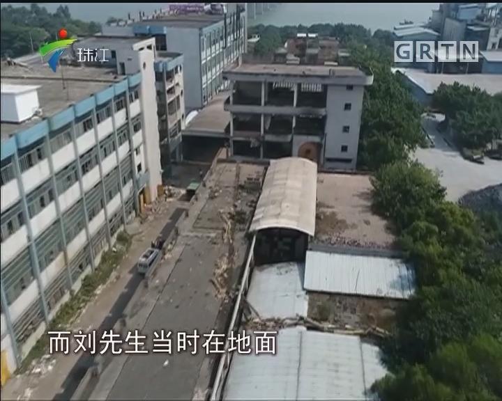 高明:一停产厂房拆除设备过程中发生爆炸