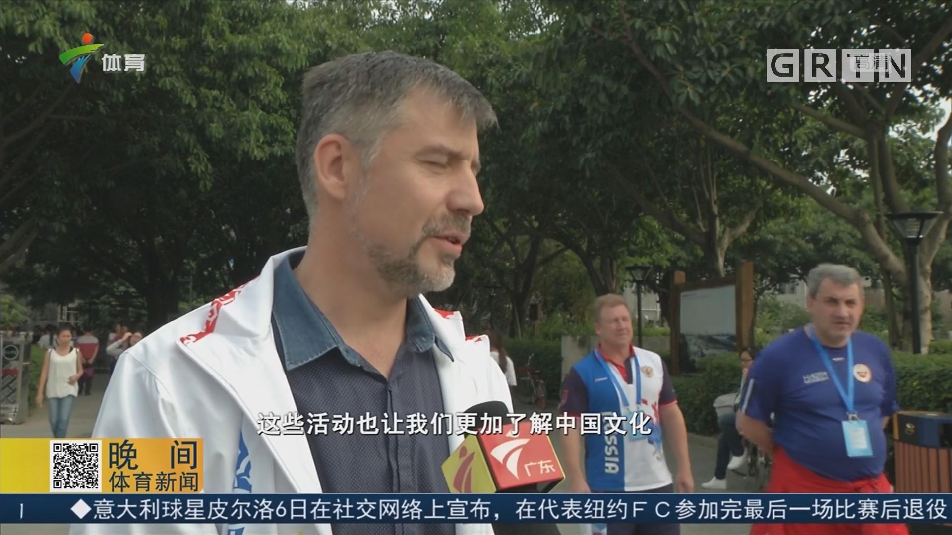 游览黄埔古港 俄罗斯运动员感受中国文化