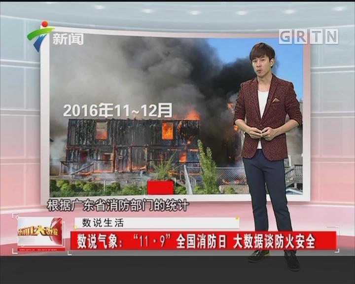 """数说气象:""""11·9""""全国消防日 大数据谈防火安全"""