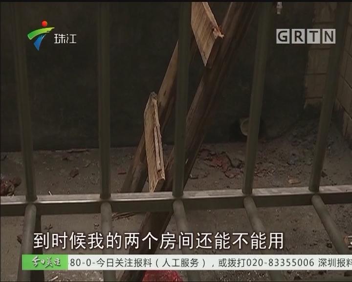 肇庆:新住户占用消防平台 邻里叫苦连连