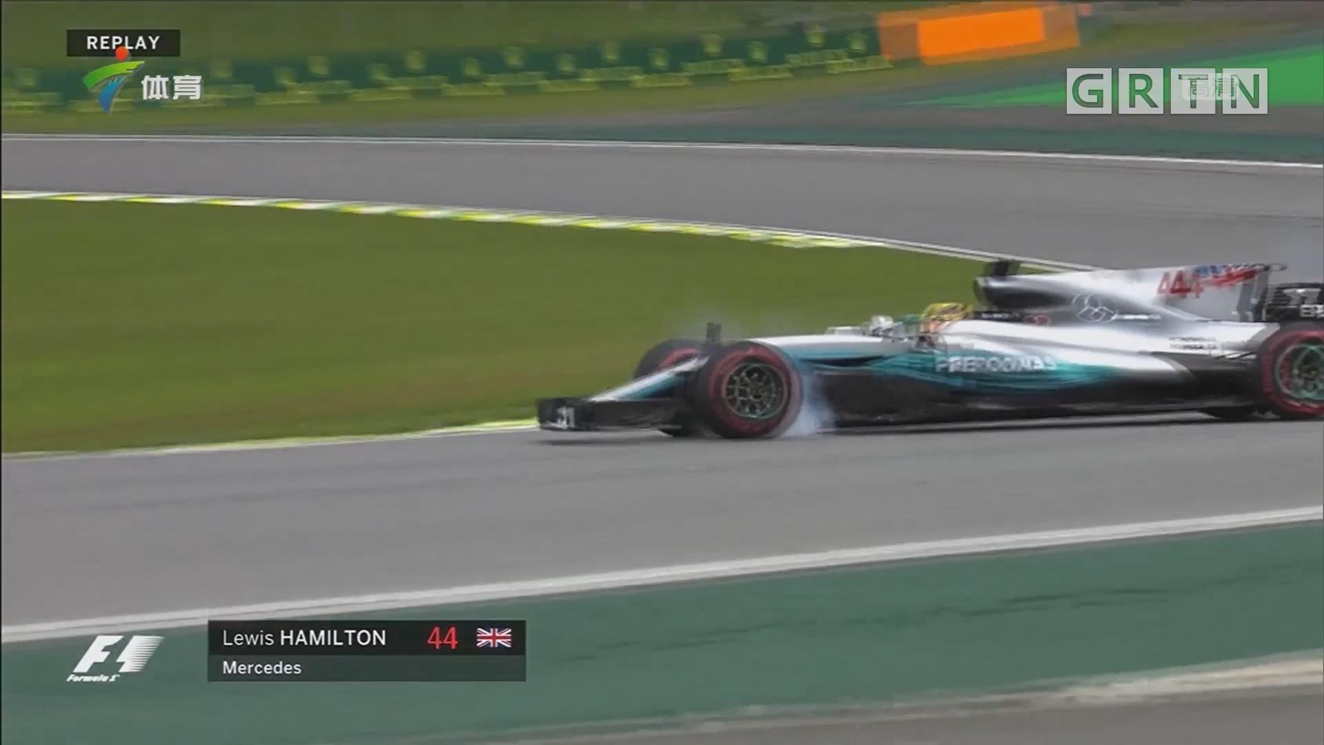 F1巴西站排位赛 博塔斯获杆位 汉密尔顿撞墙退赛
