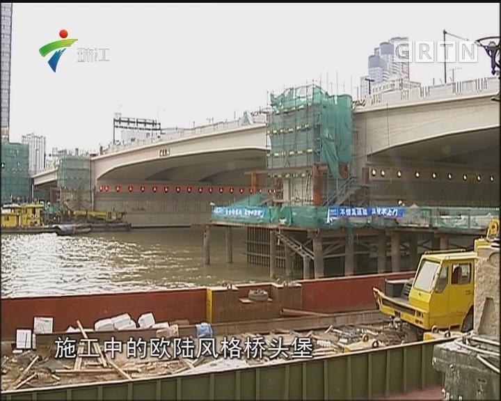 广州:人民桥建垂直电梯本月底完工