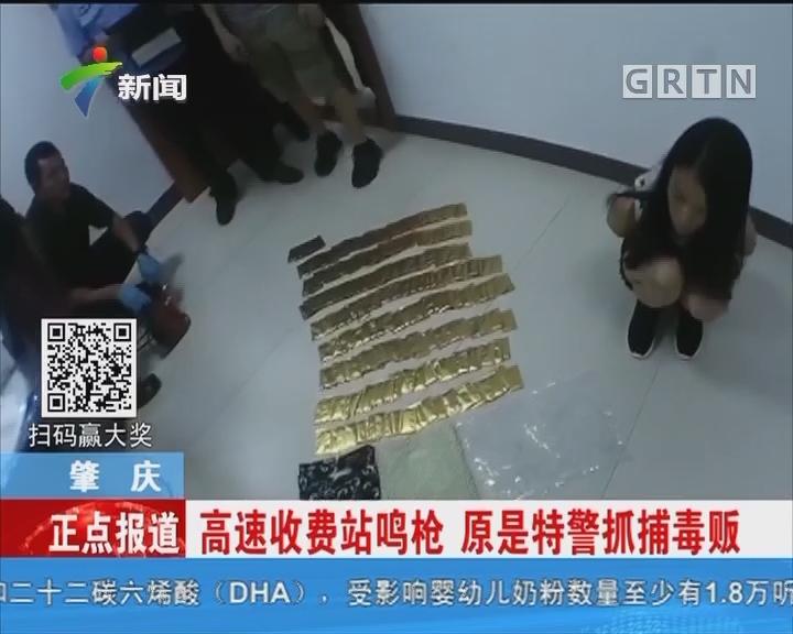 肇庆:高速收费站鸣枪 原是特警抓捕毒贩