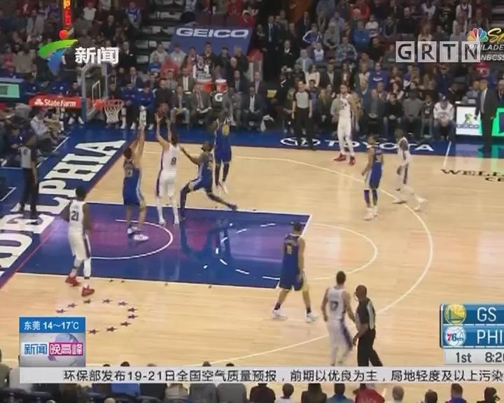 NBA:金州勇士124—116逆转费城76人