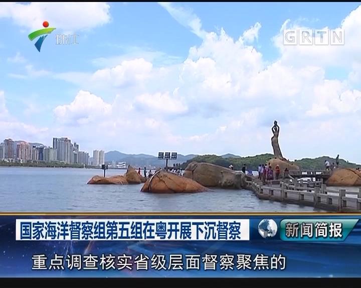国家海洋督察组第五组在粤开展下沉督察