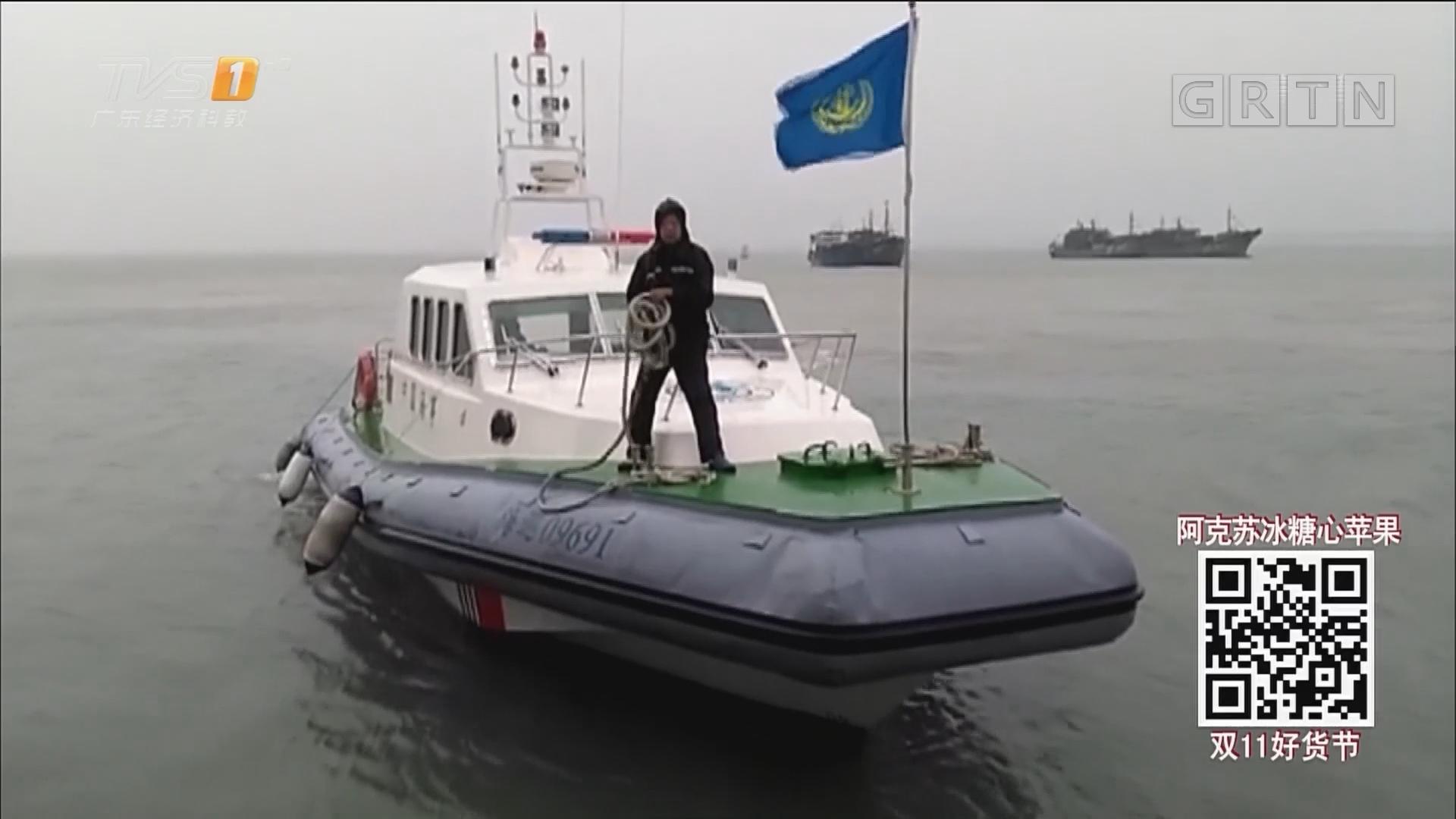 揭阳:一货轮遭遇寒潮大风沉没 14名船员遇险全部获救