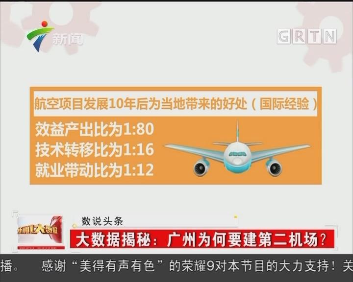 大数据揭秘:广州为何要建第二机场?