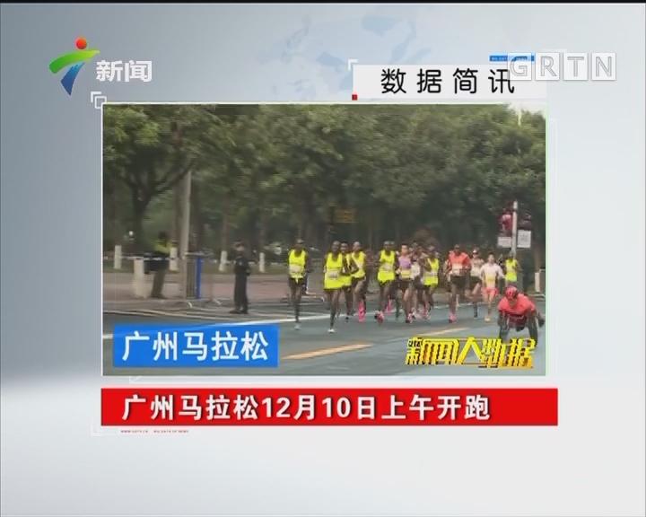 广州马拉松12月10日上午开跑