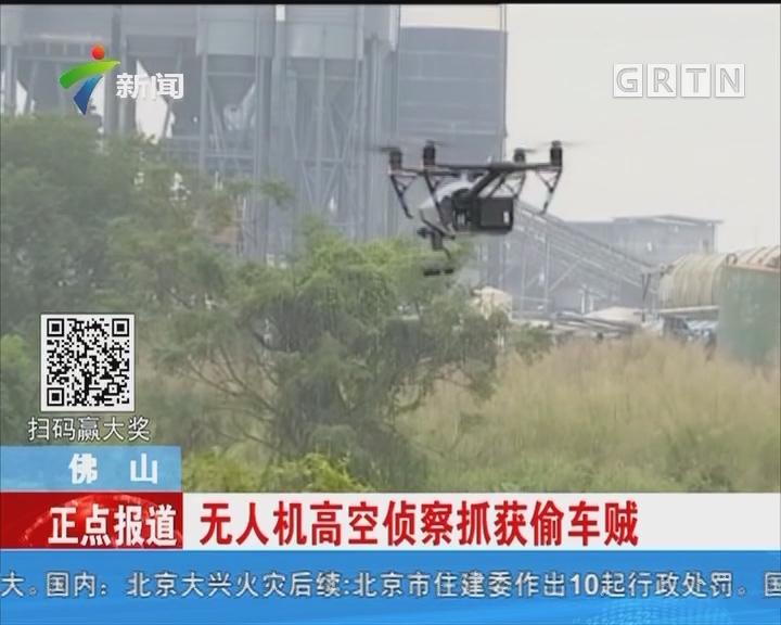 佛山:无人机高空侦察抓获偷车贼