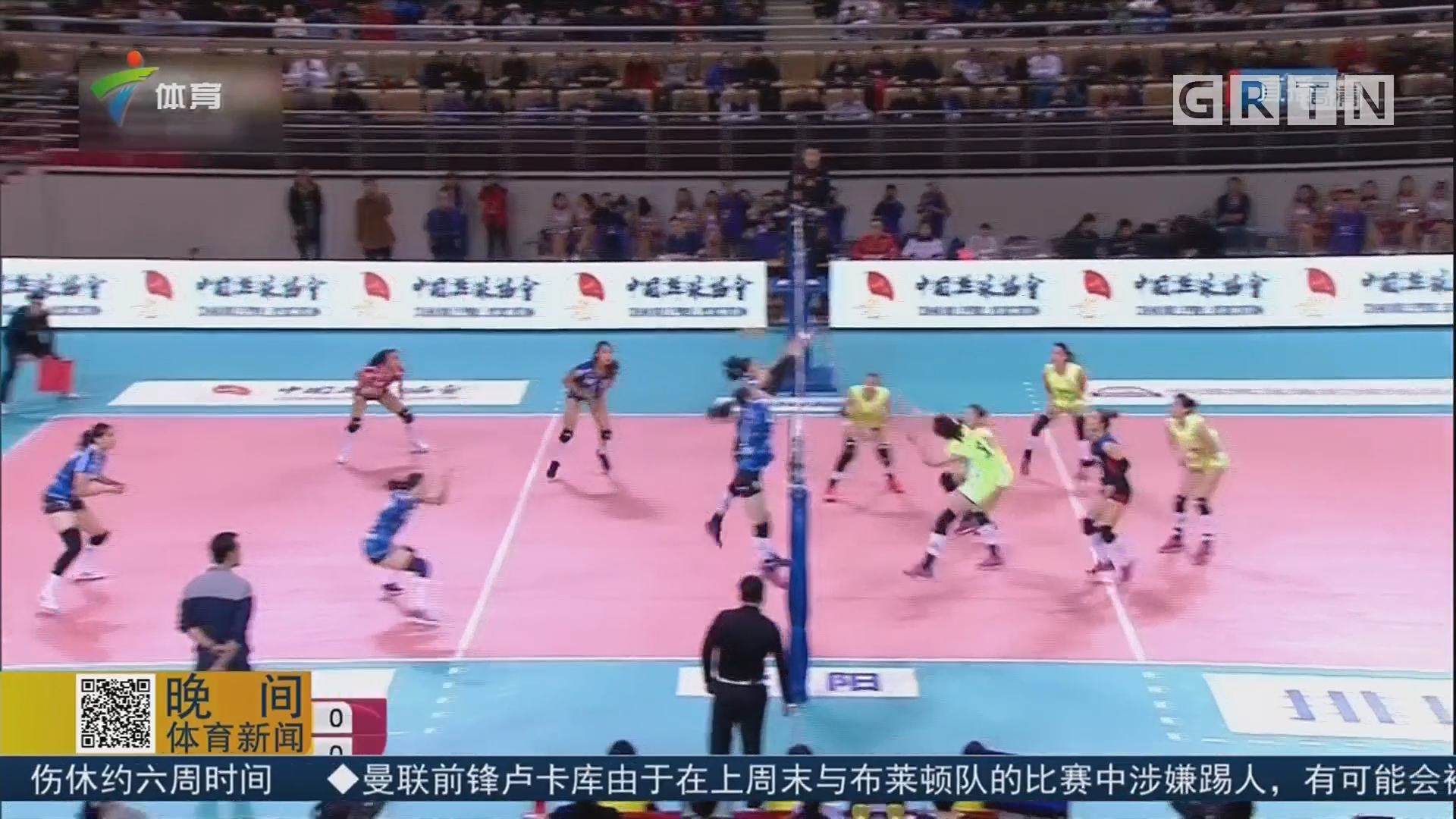 中国女排联赛八一客胜辽宁