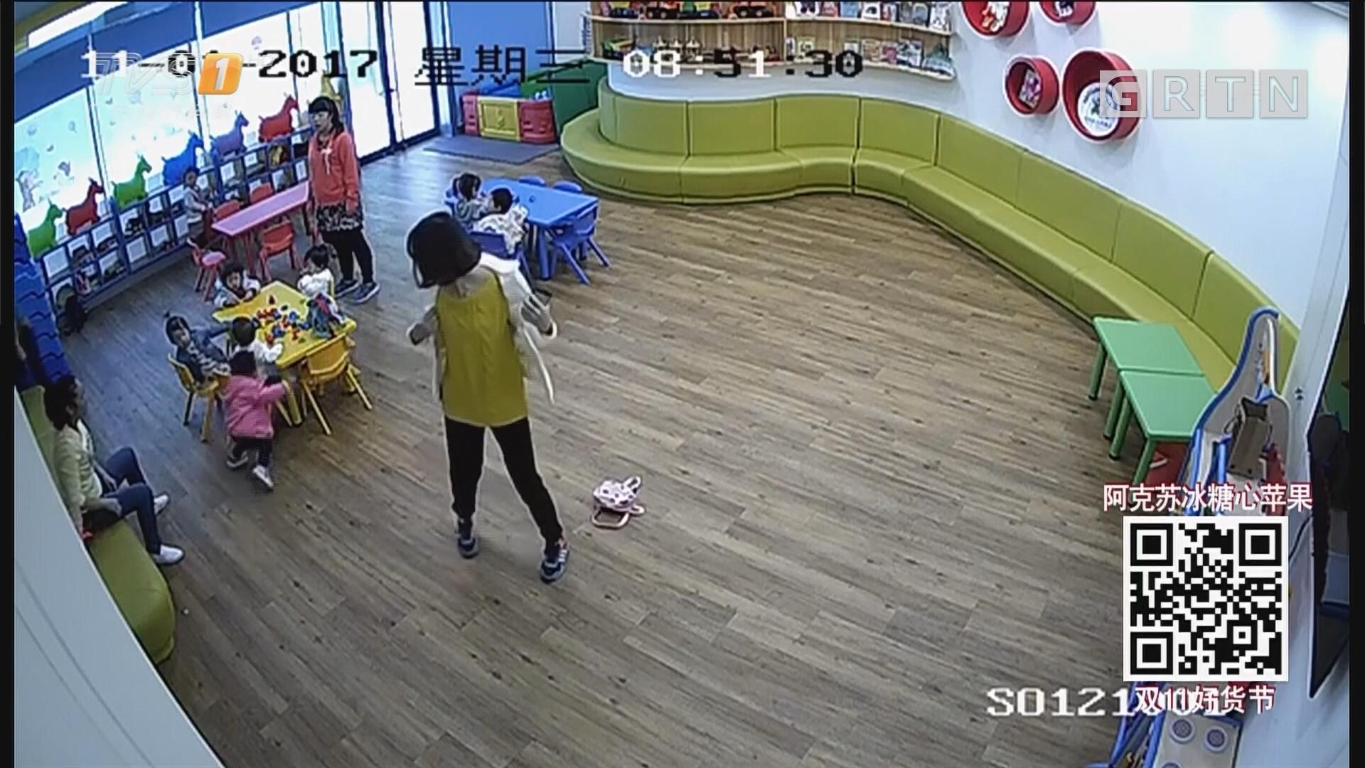上海携程托幼所被曝老师推倒孩子喂芥末