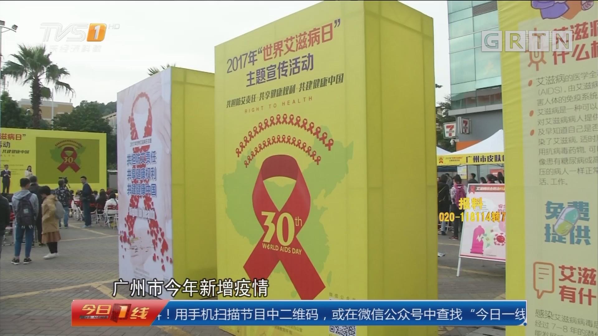 世界艾滋病日:新增艾滋病疫情以中青年人群为主
