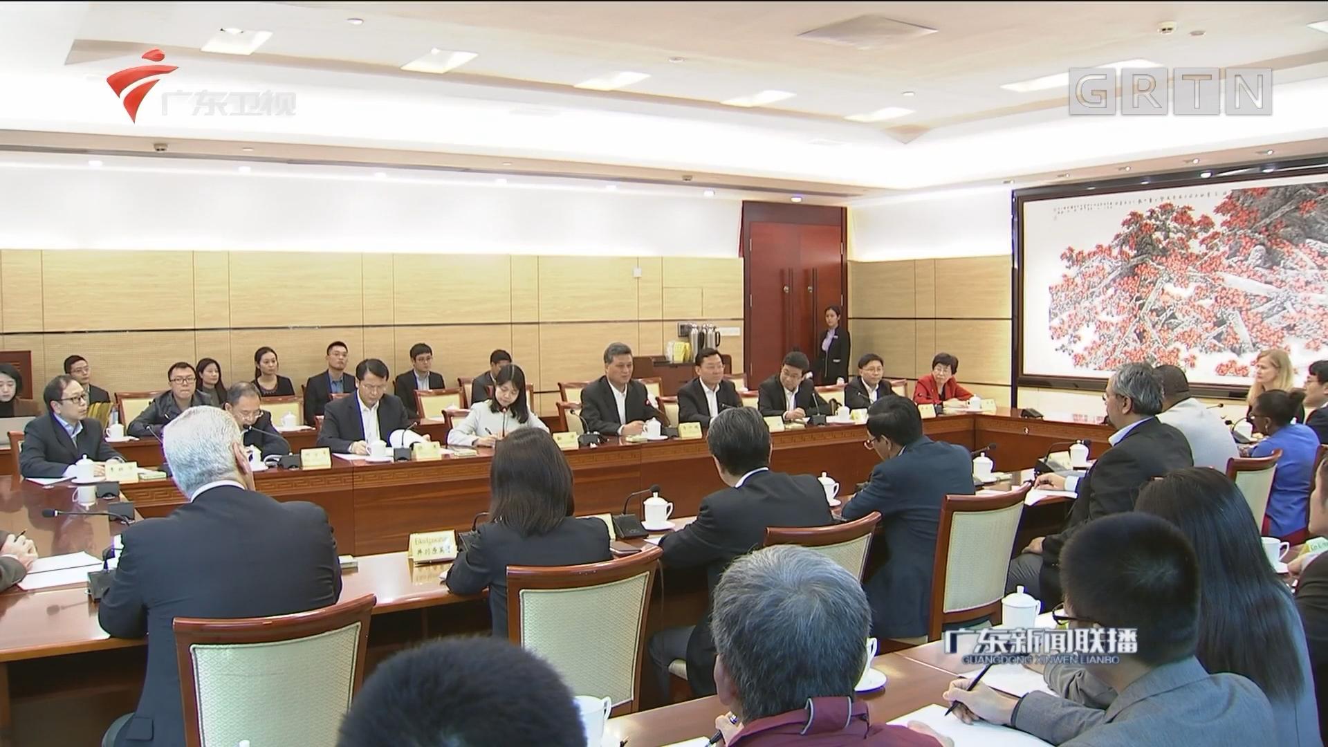 马兴瑞会见外国驻港领团商会媒体联合参访团