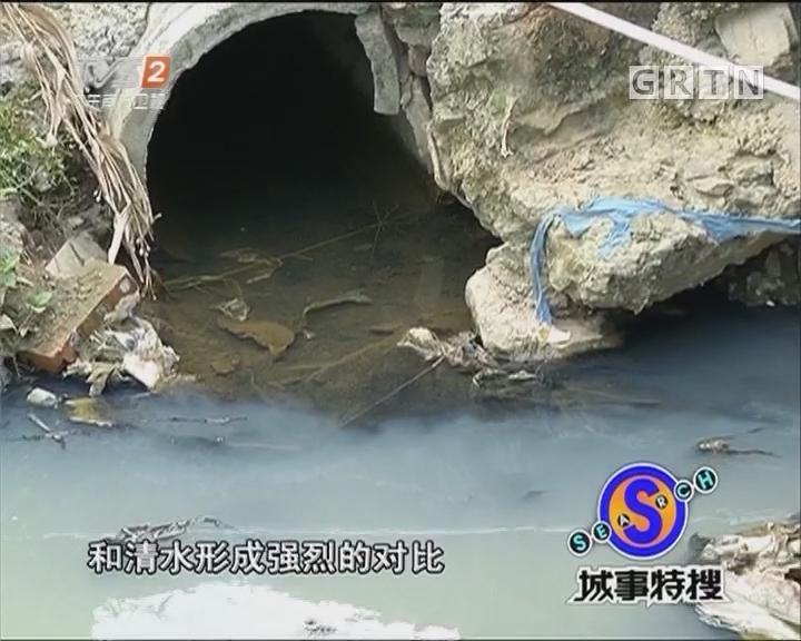 """番禺现""""蓝色多瑙河"""" 环保亮剑取缔污染源"""