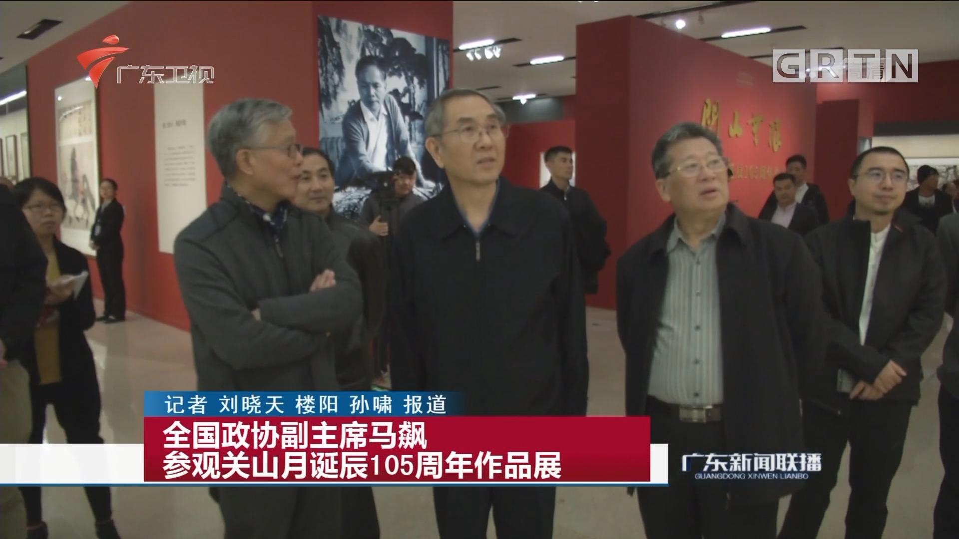 全国政协副主席马飙 参观关山月诞辰105周年作品展