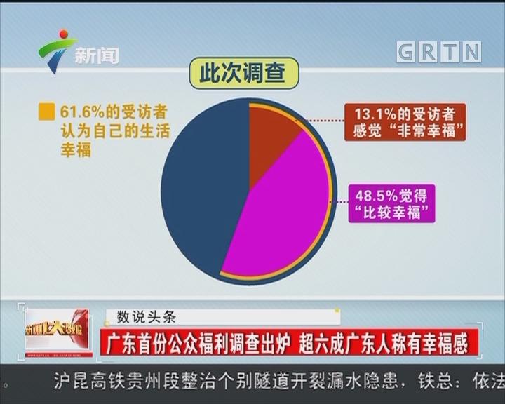 广东首份公众福利调查出炉 超六成广东人称有幸福感