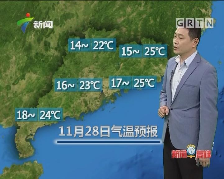 20171128天气预报